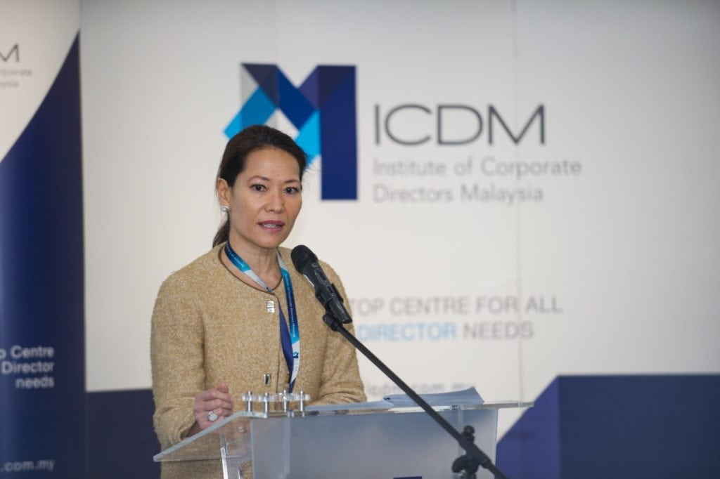 Michele Kythe Lim President CEO of ICDM