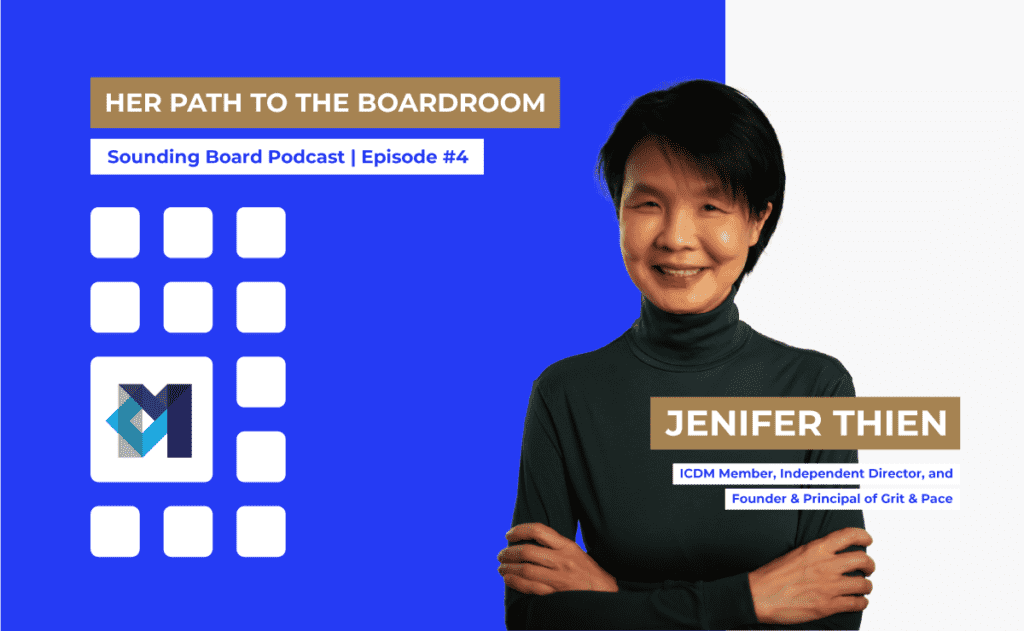 E4   Her Path to the Boardroom   Jenifer Thien